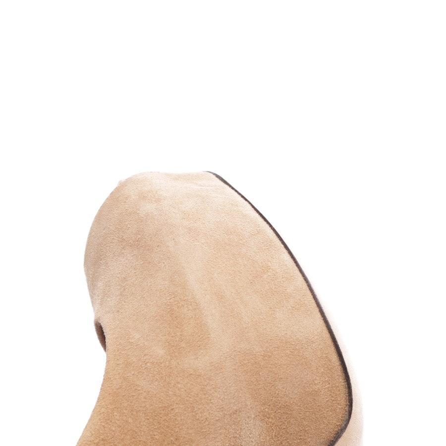 Riemchen-Pumps von Gucci in Camel Gr. D 38