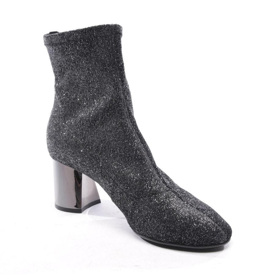 Sock Boots von Lola Cruz in Anthrazit Gr. EUR 39 - NEU