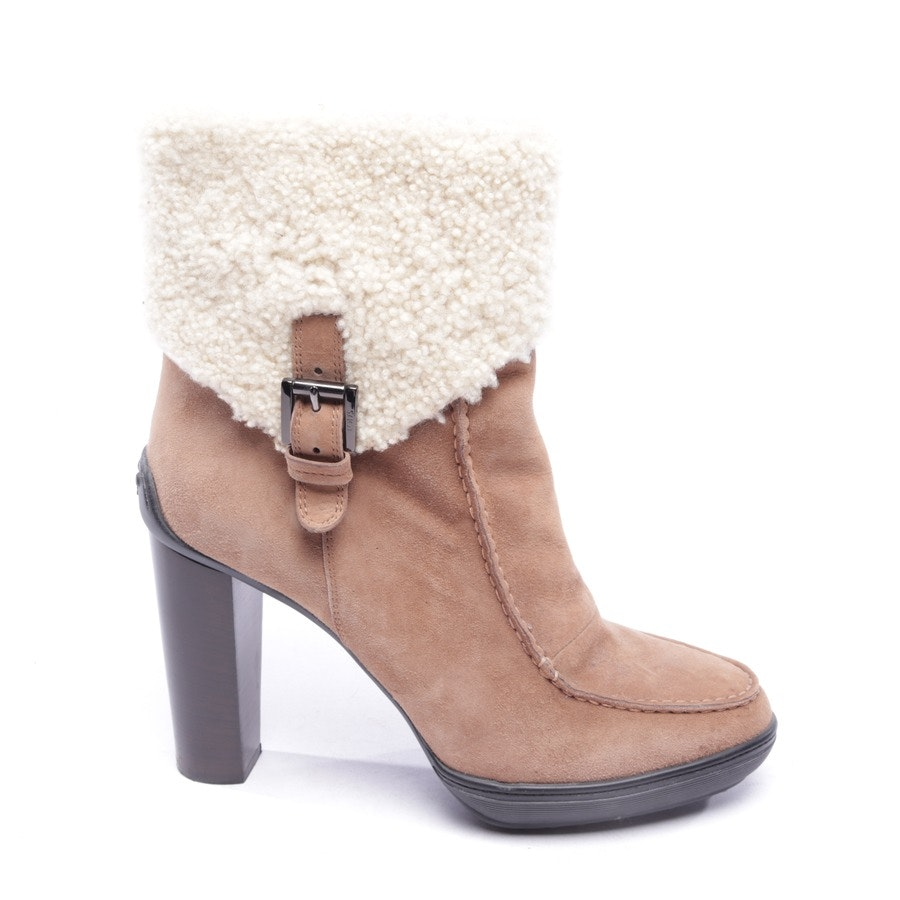 ankle boots from Tod´s in cream and beige size EUR 40