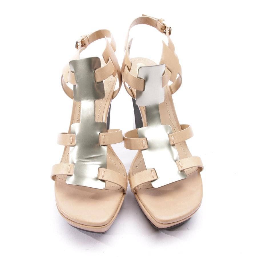 Sandaletten von Tod´s in Beige Gr. D 39