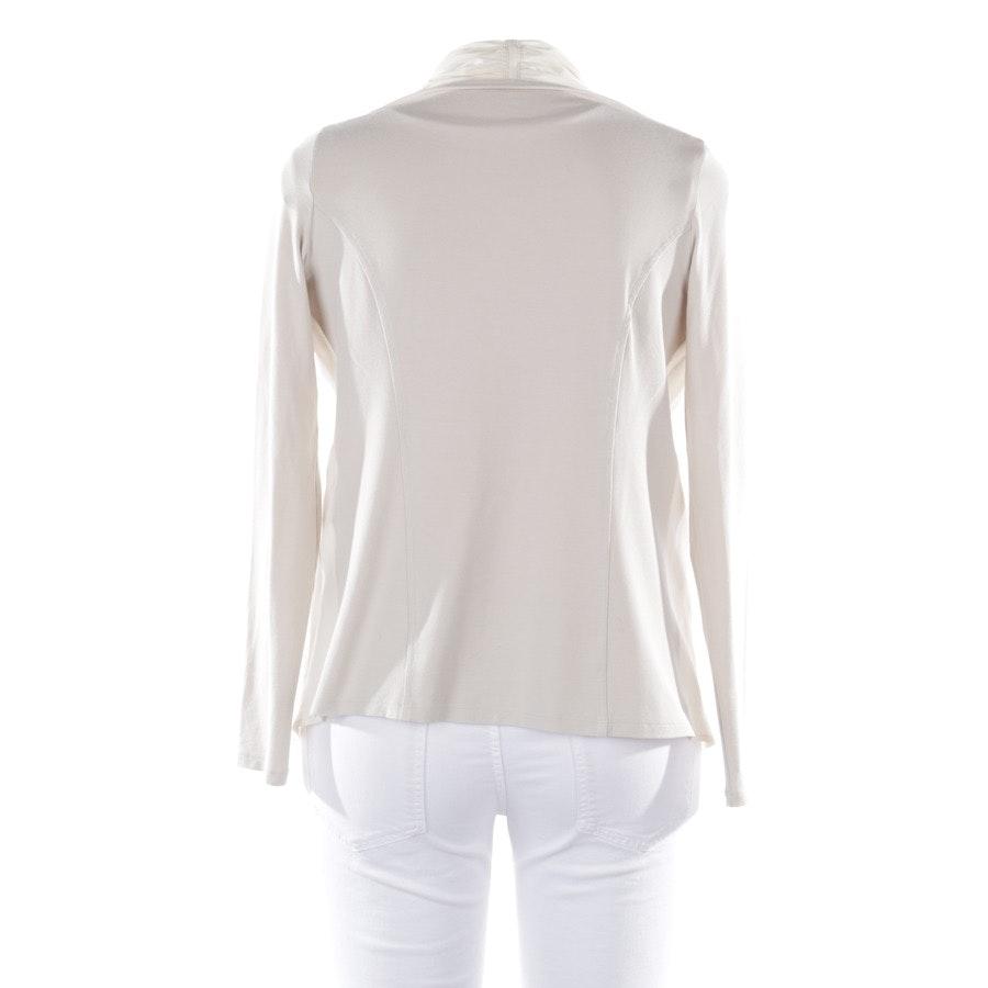 Shirt langarm von Marc Cain in Cremeweiß Gr. 38 N3