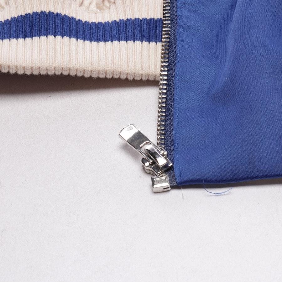 Blouson von Maje in Blau und Weiß Gr. 38 FR 40