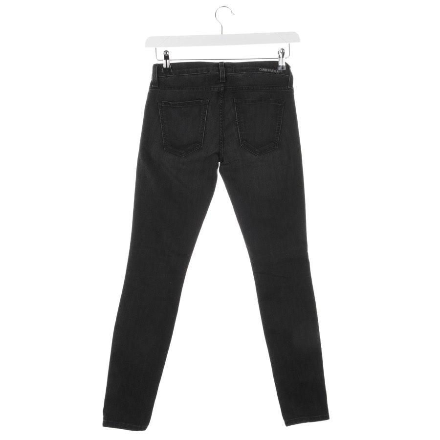 Jeans von Current/Elliott in Dunkelgrau Gr. W25 - The Ankle Skinny
