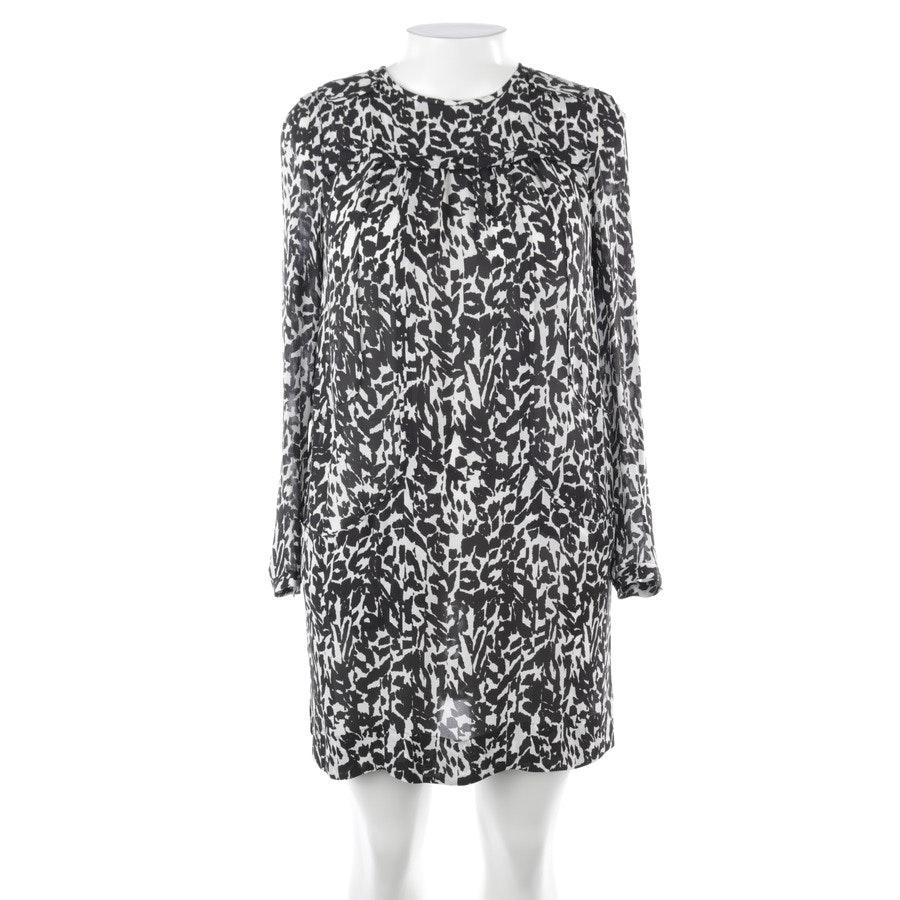 Seidenkleid von Isabel Marant in Schwarz und Weiß Gr. 40 FR 42