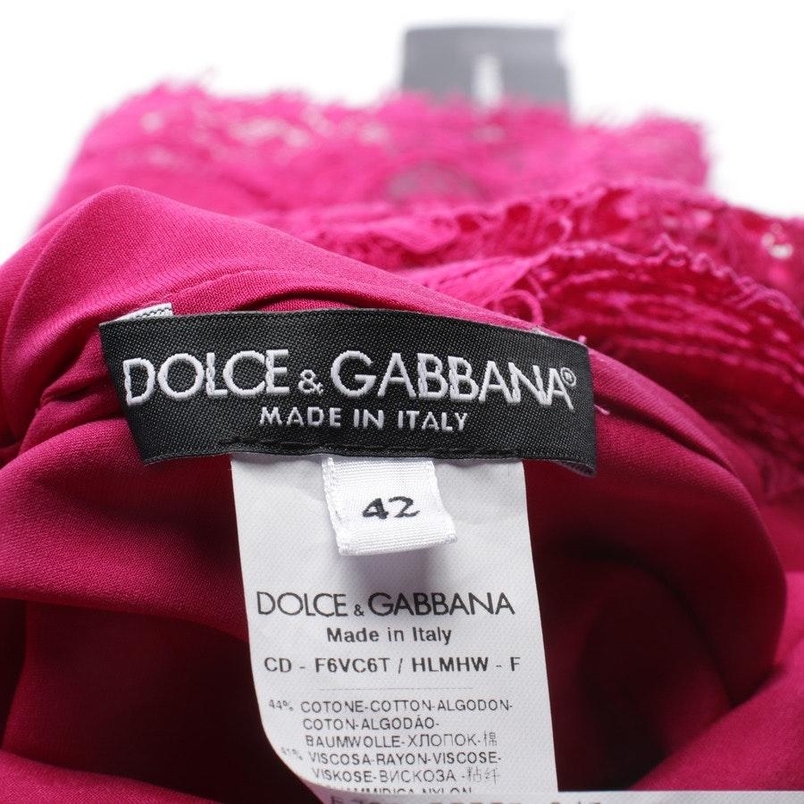 Cocktailkleid von Dolce & Gabbana in Fuchsia Gr. 36 IT 42 - Neu