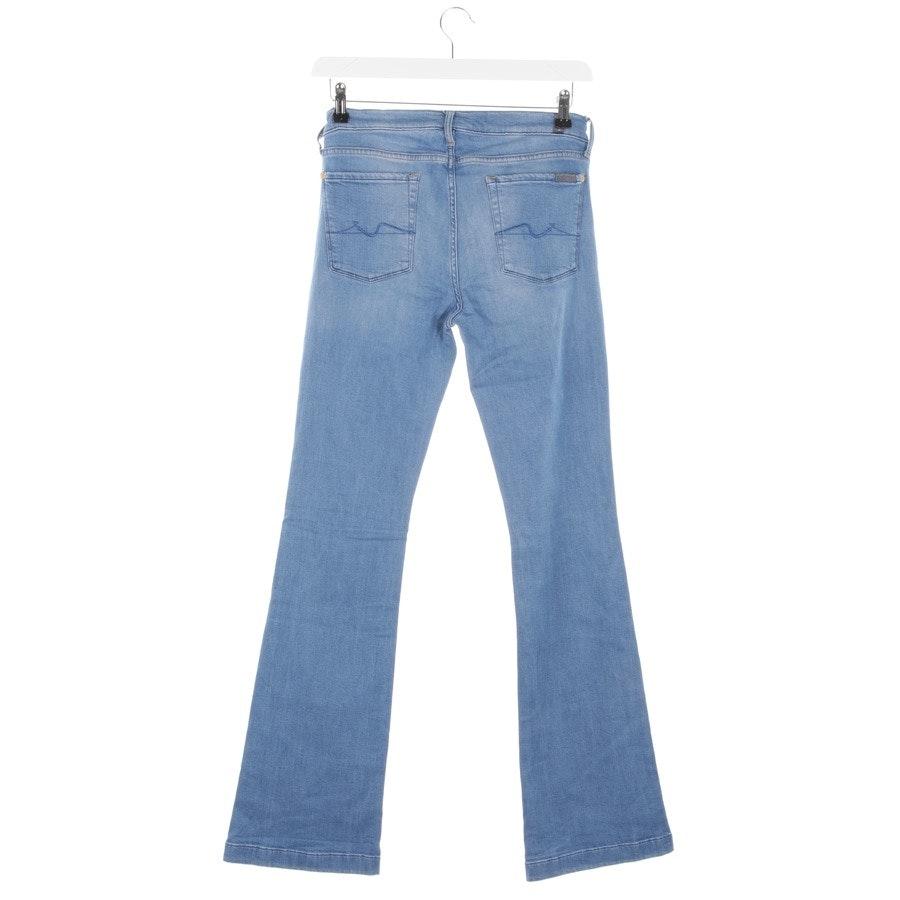 Jeans von 7 for all mankind in Blau Gr. W32 - Charlize