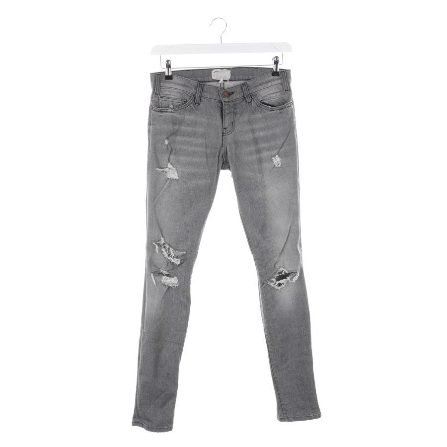 Jeans von Current/Elliott in Grau Gr. W27 - The Skinny