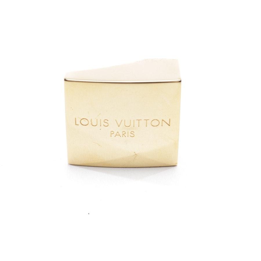 Gürtelschnalle von Louis Vuitton in Gold
