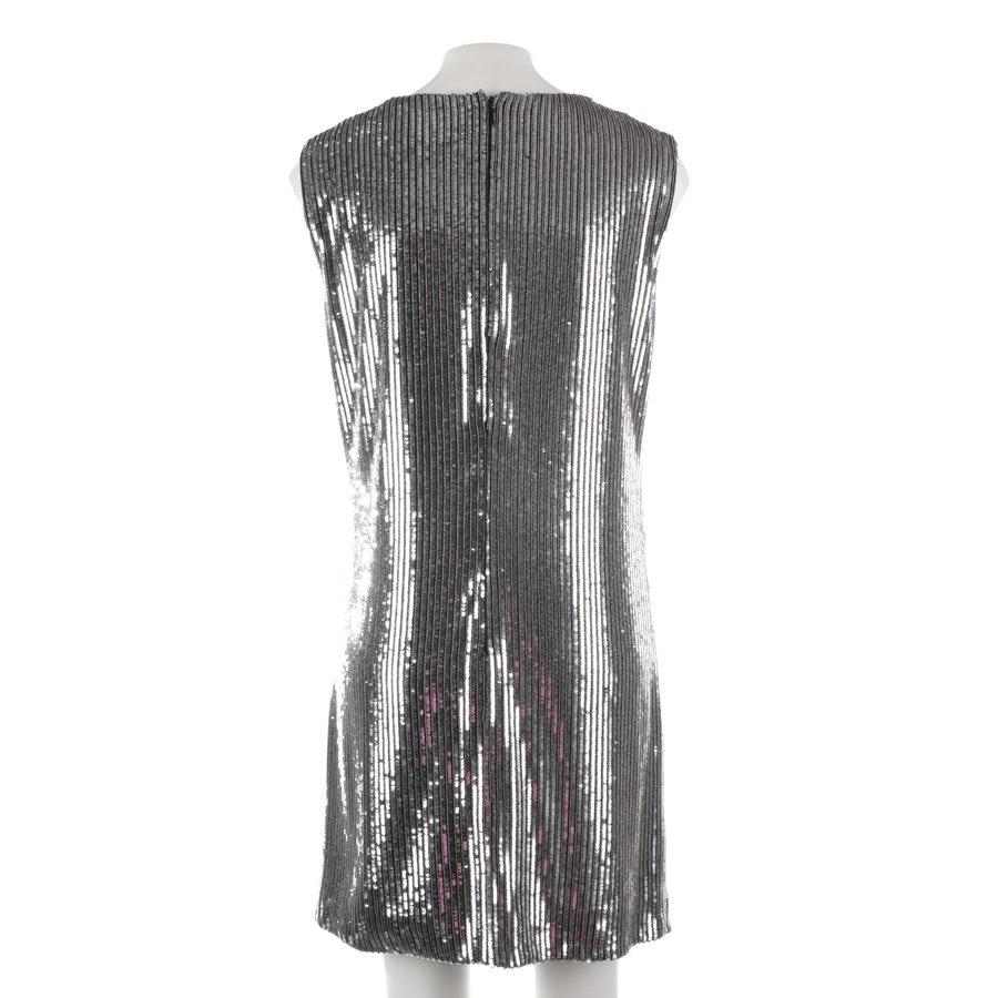 Paillettenkleid von Saint Laurent in Silber Gr. 40 FR 42