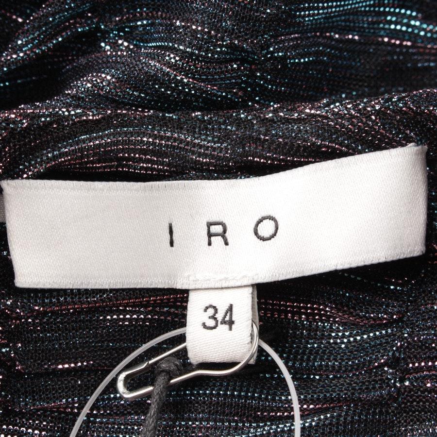Cocktailkleid von Iro in Blau und Rosa Gr. DE 32 FR 34 - Neu mit Etikett!