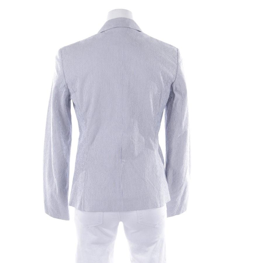 Blazer von Peserico in Blau und Weiß Gr. 36 IT 42