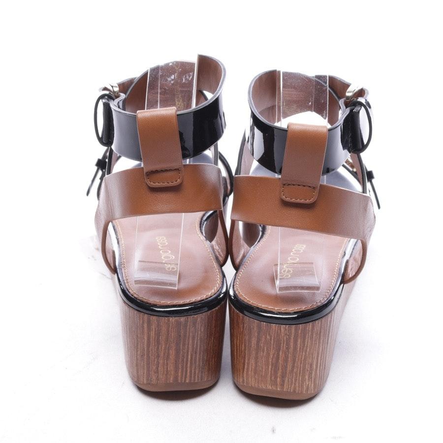 Sandaletten von Sergio Rossi in Schwarz Gr. D 36