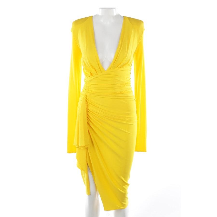 Kleid von Alexandre Vauthier in Gelb Gr. 36 FR 38