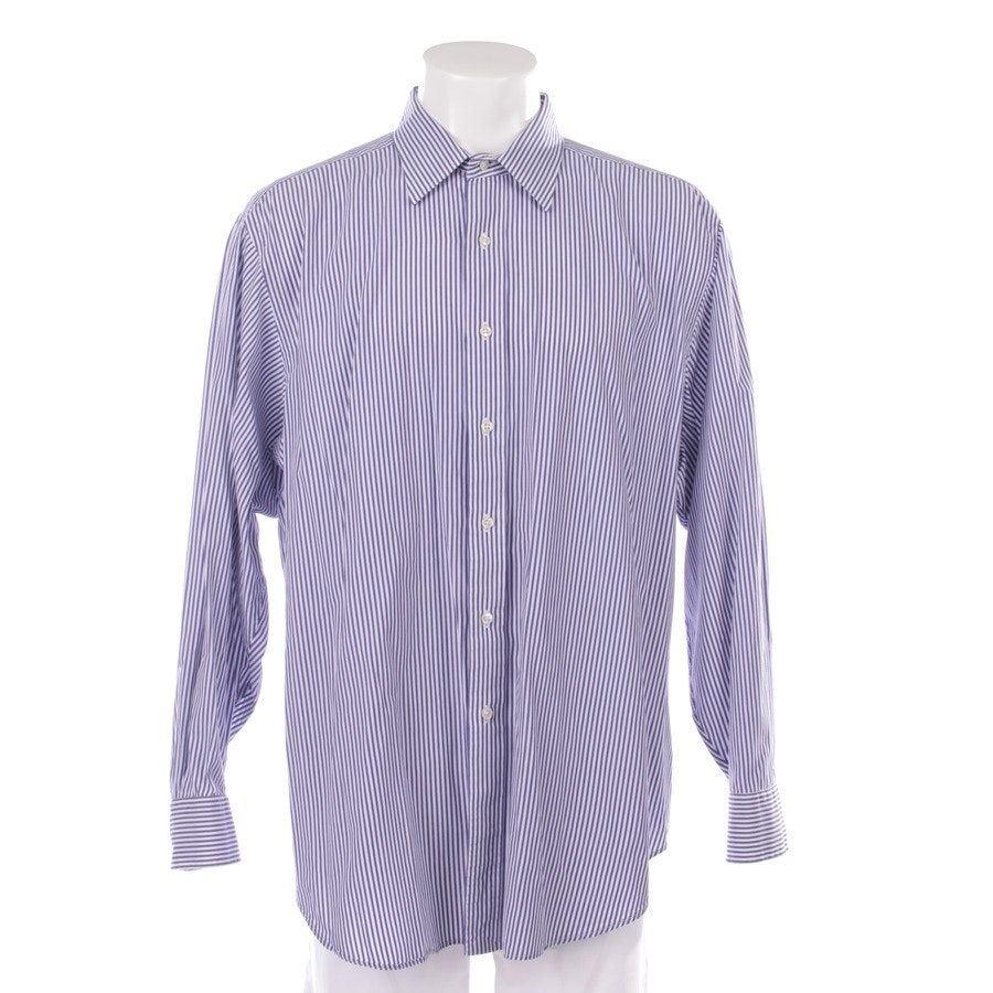 casual shirt from Polo Ralph Lauren in white and blue size 34-35 - andrew