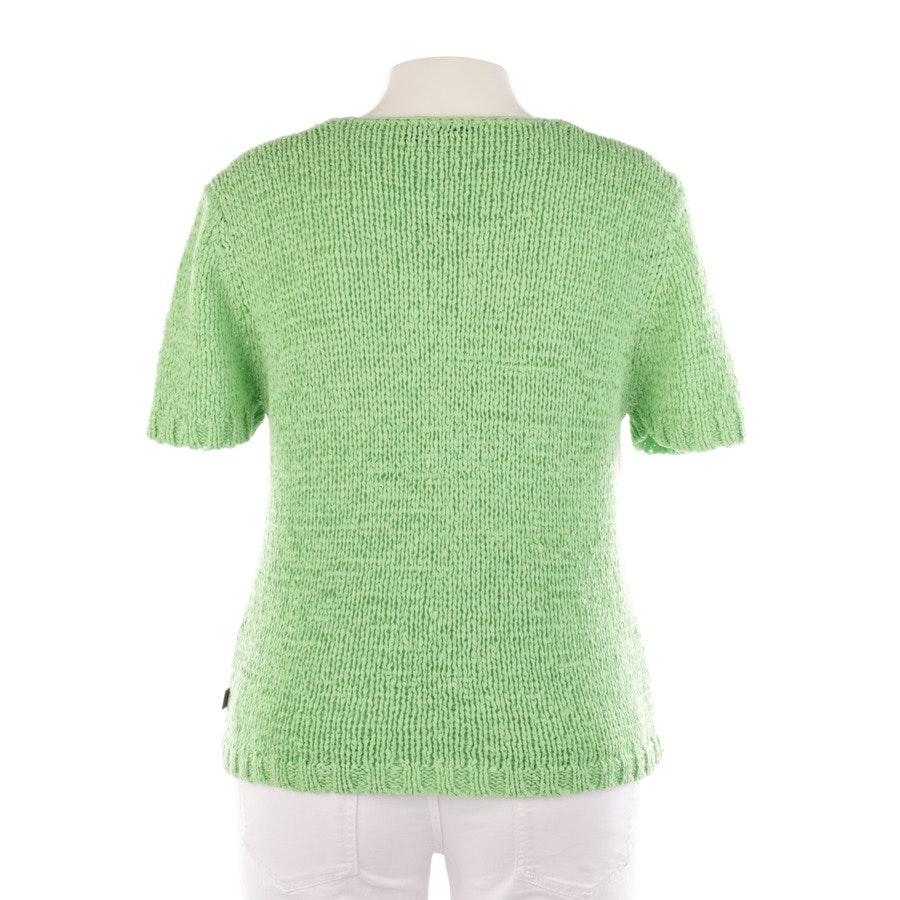 Pullover von Oui in Apfelgrün Gr. 42