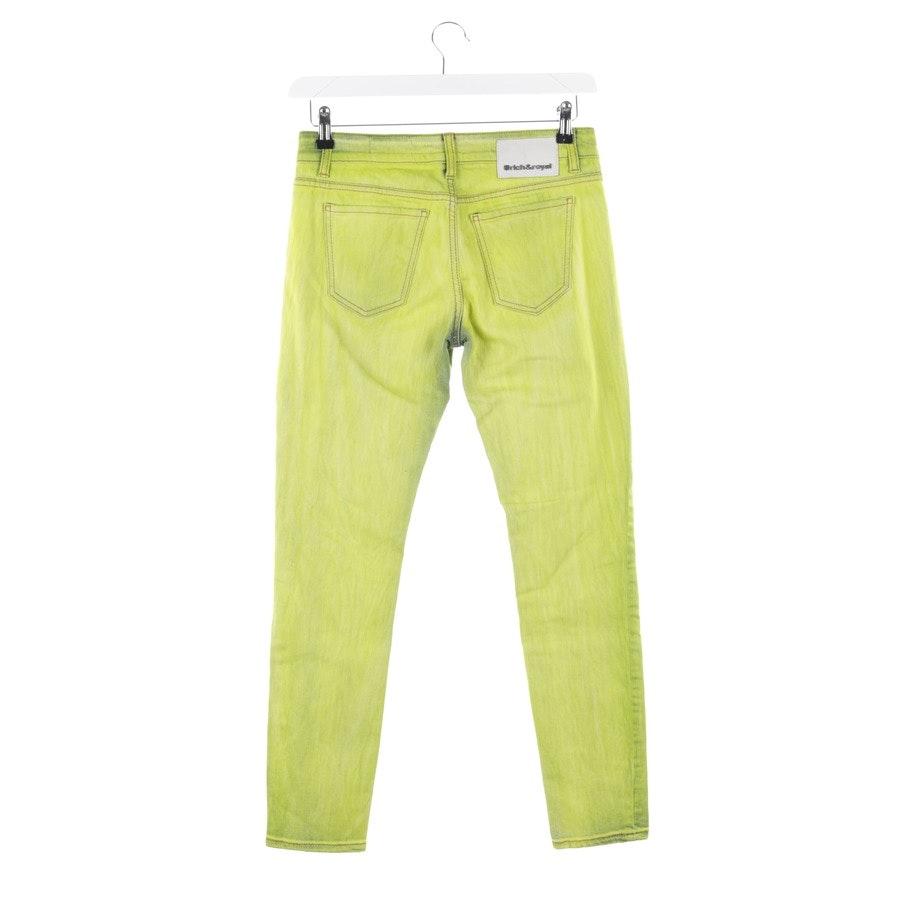 Jeans von Rich & Royal in Neon Grün Gr. W28