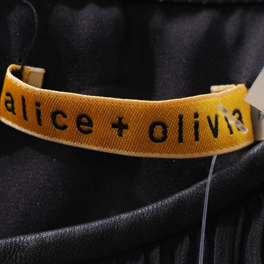 Kleid von Alice + Olivia in Schwarz Gr. S