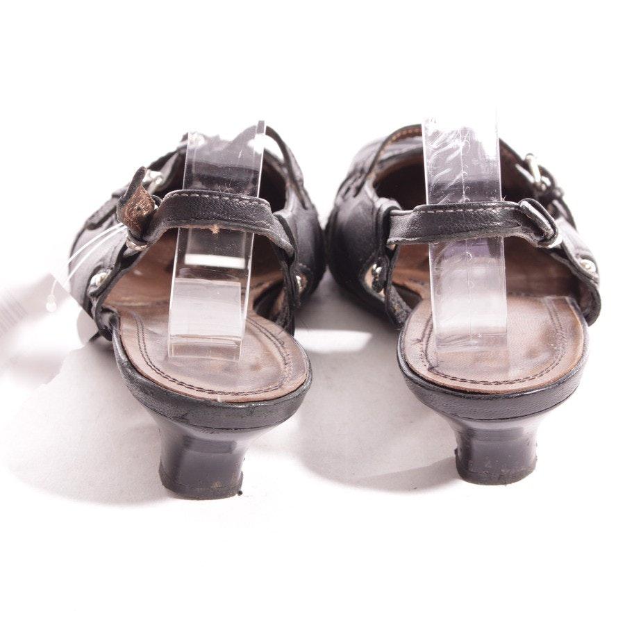 Slingbacks von Högl in Schwarz Gr. D 36,5 UK 3,5