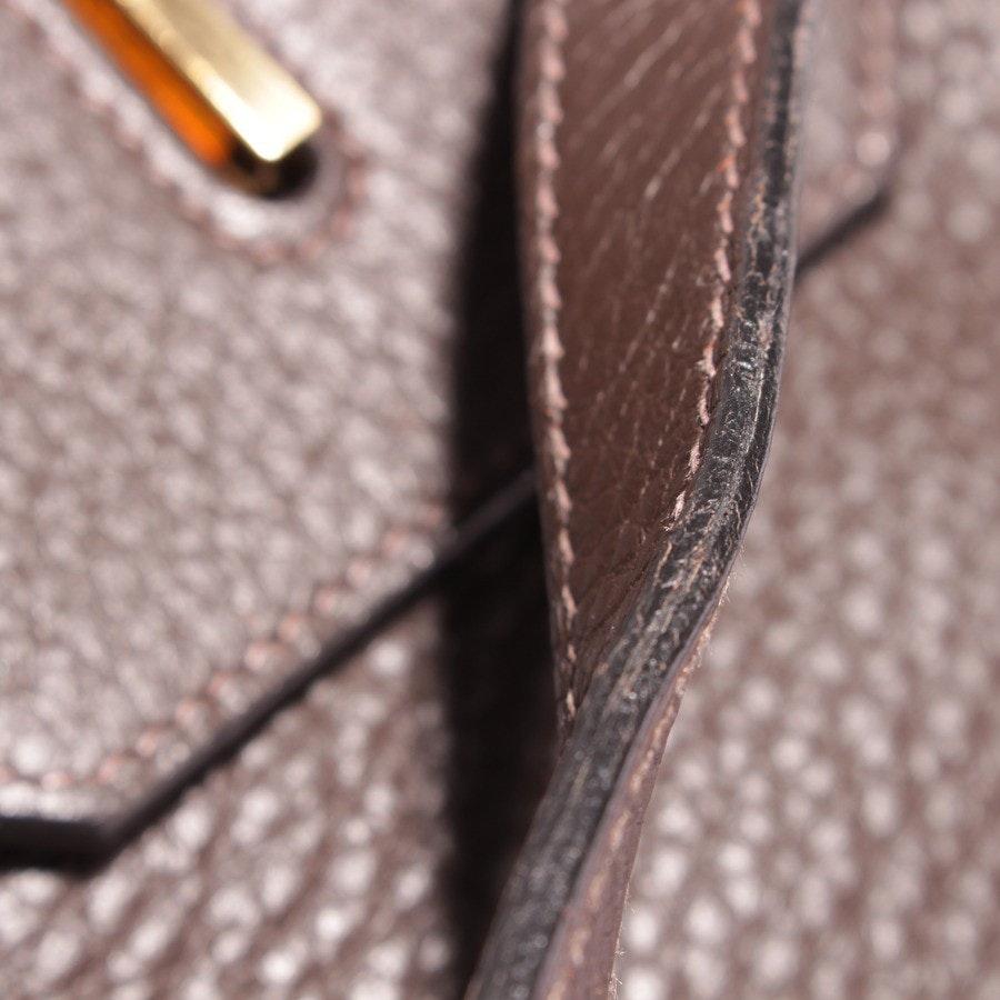 Handtasche von Hermès in Chocolat - Birkin Bag 40