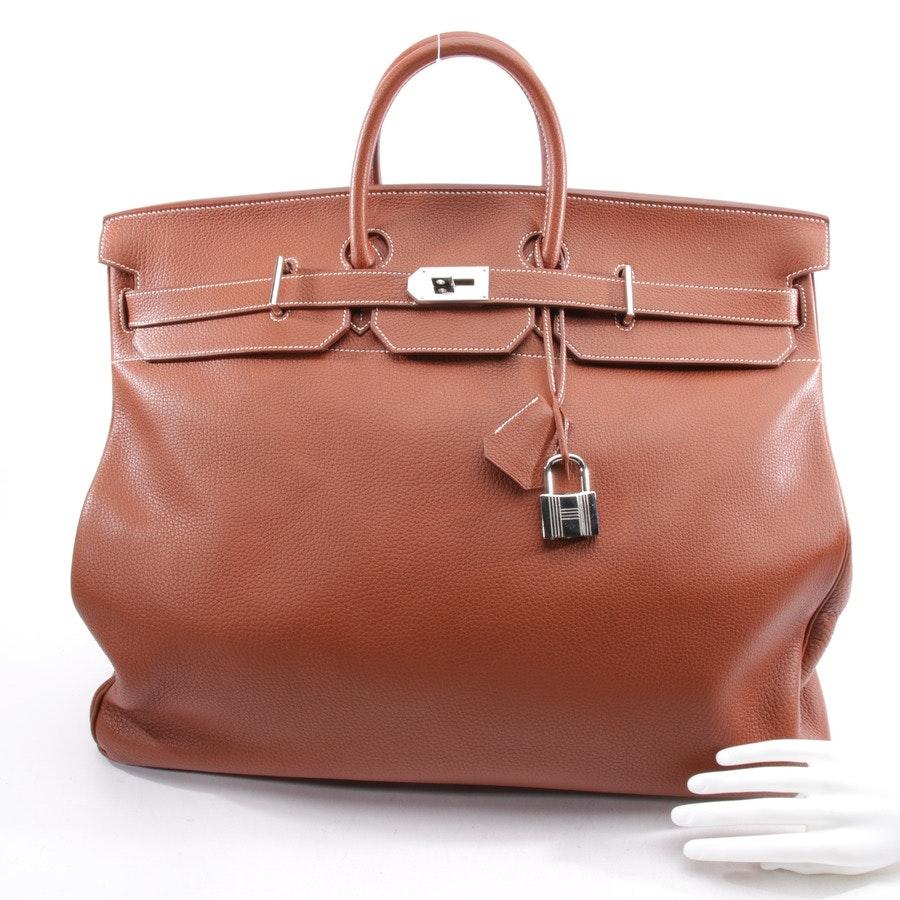 Weekender von Hermès in Braun - Birkin HAC 55