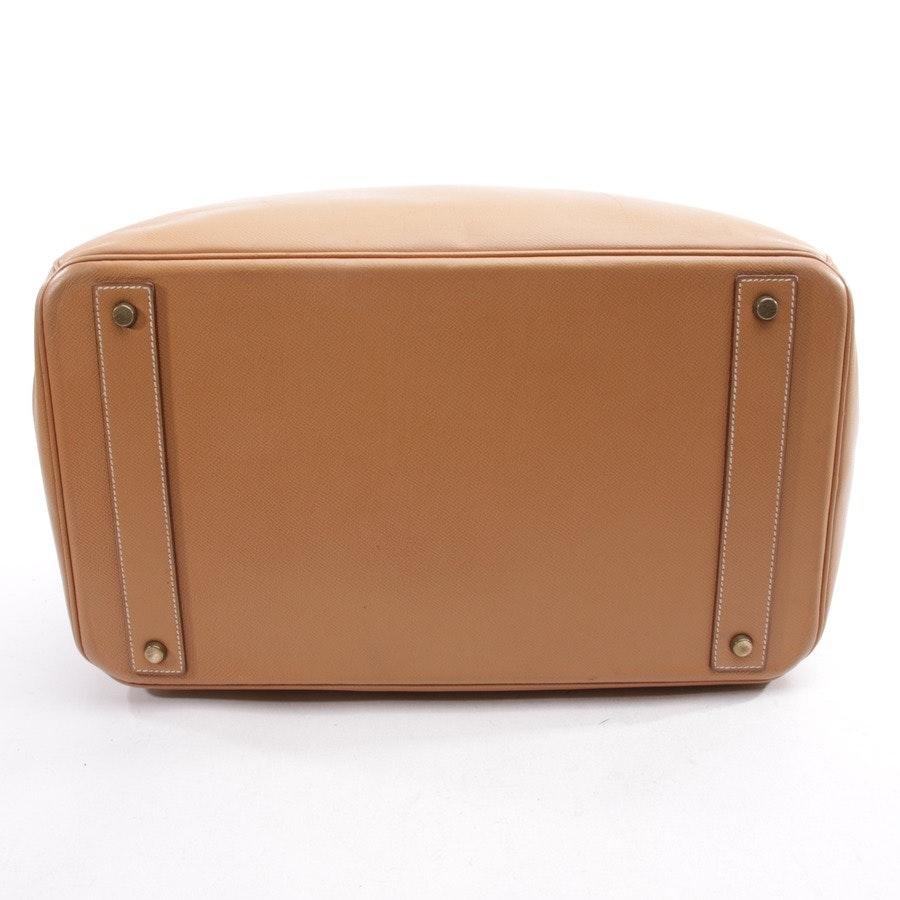 handbag from Hermès in caramel - birkin hac 40
