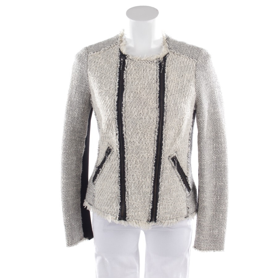 between-seasons jackets from Rebecca Taylor in cream white and black size 34 US 4