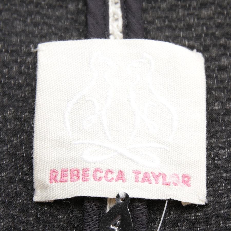 Übergangsjacke von Rebecca Taylor in Cremeweiß und Schwarz Gr. 34 US 4