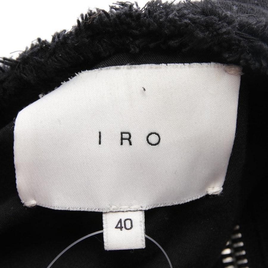 Übergangsjacke von Iro in Schwarz Gr. 38 FR 40 - Omaya