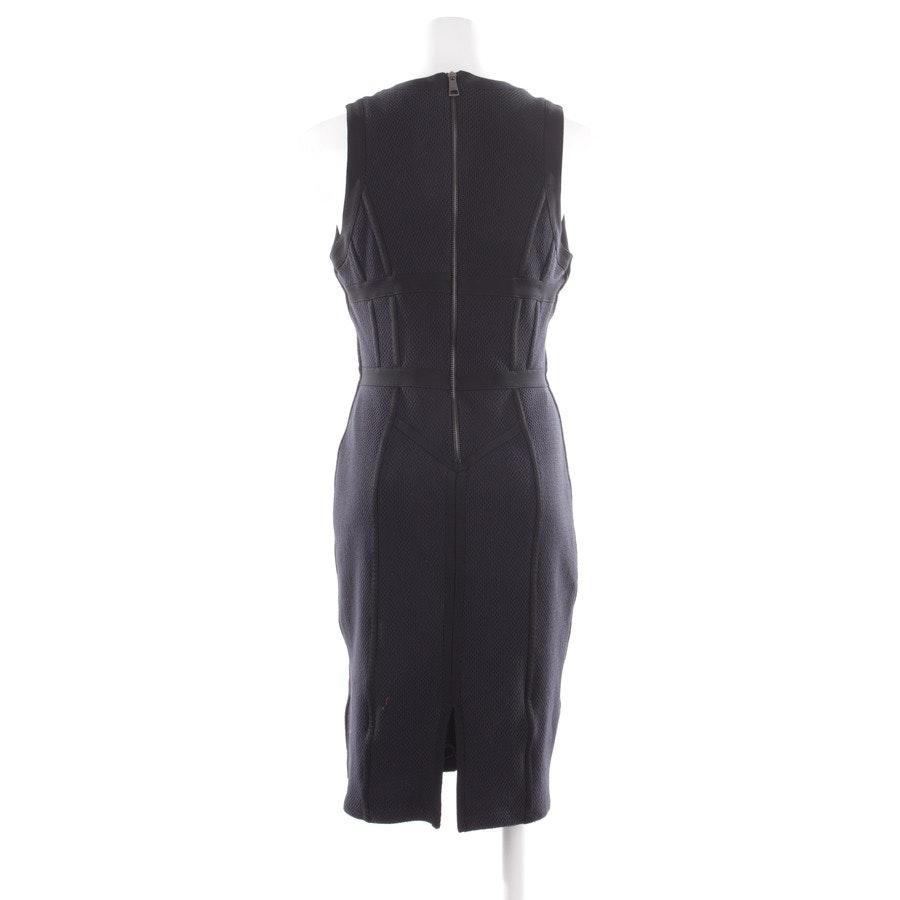 Kleid von Burberry London in Marineblau und Schwarz Gr. 38
