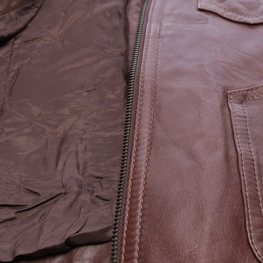 leather jacket from ARMA in brown size 36 IT 42