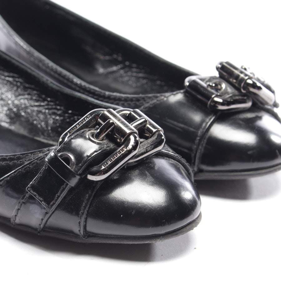 loafers from Burberry in black size EUR 38