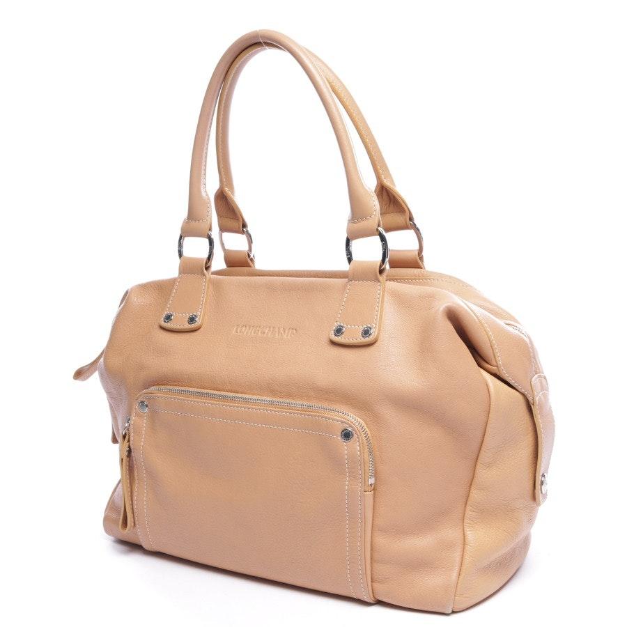 handbag from Longchamp in beige