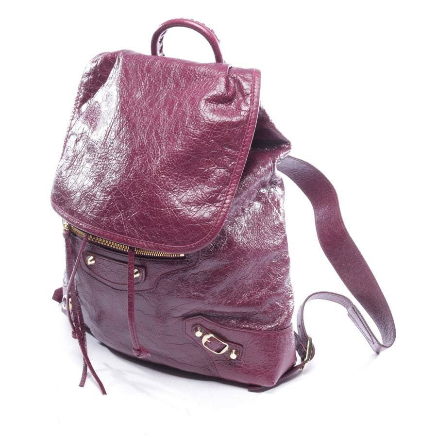 backpack from Balenciaga in plum