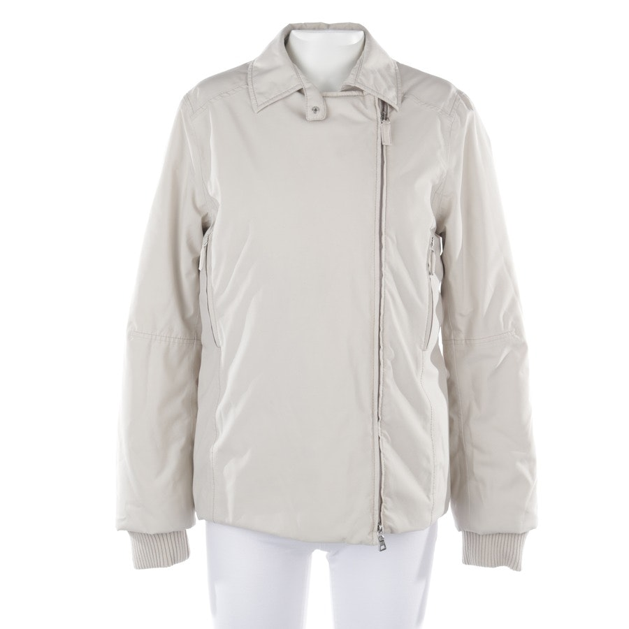 between-seasons jackets from Prada Linea Rossa in beige size 34 IT 40