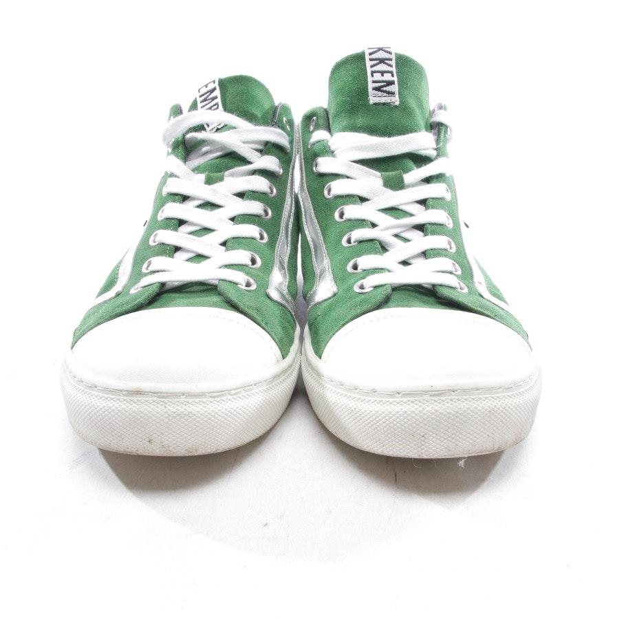 Sneaker von Bikkembergs in Grün und Weiß Gr. D 42