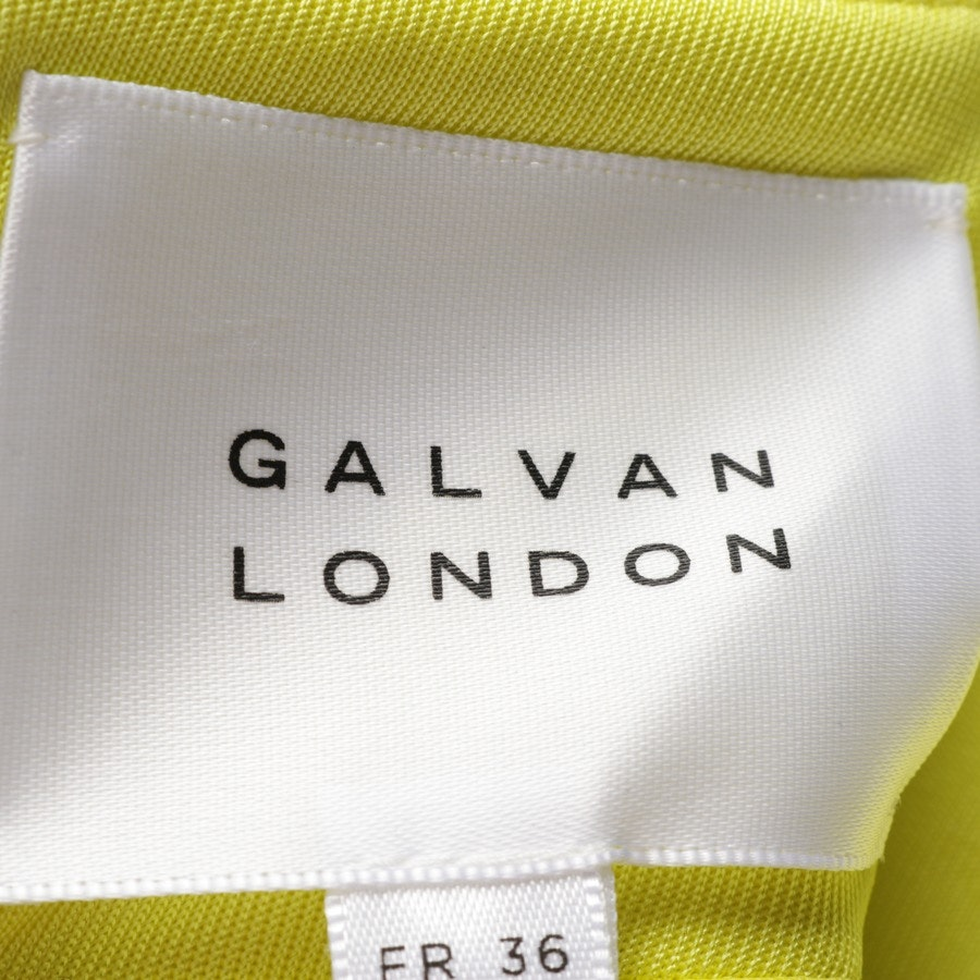 Maxikleid von Galvan London in Gelb Gr. 34 UK 8