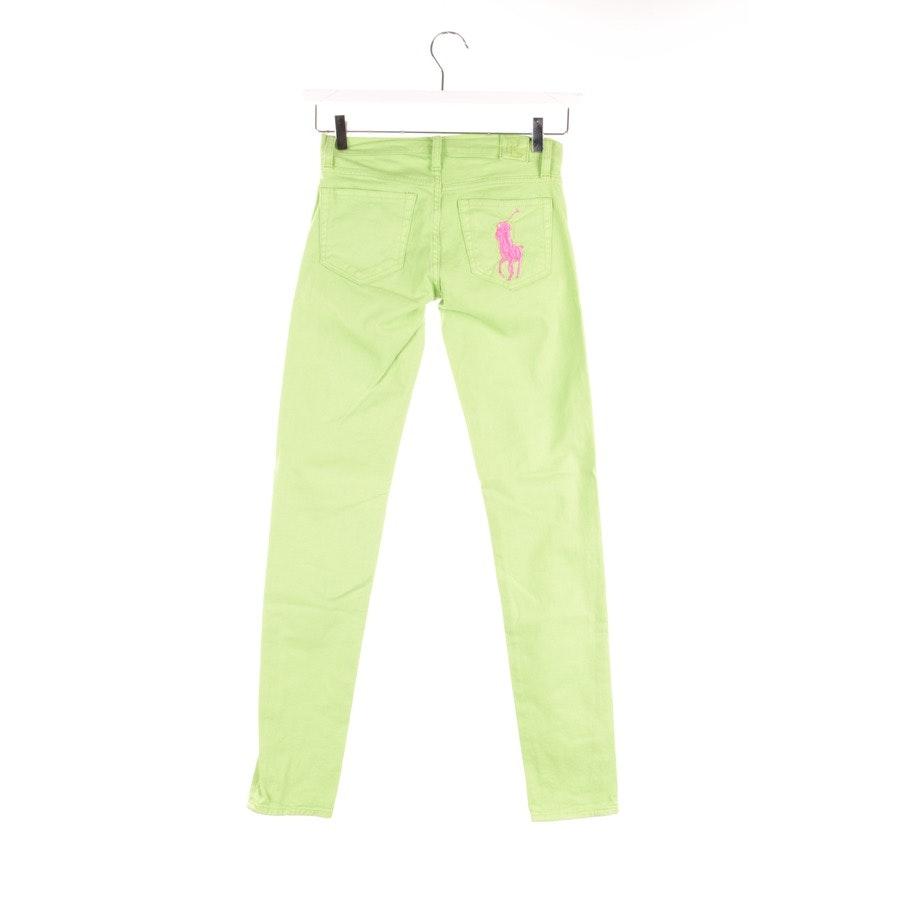 Jeans von Lauren Ralph Lauren in Apfelgrün Gr. W25