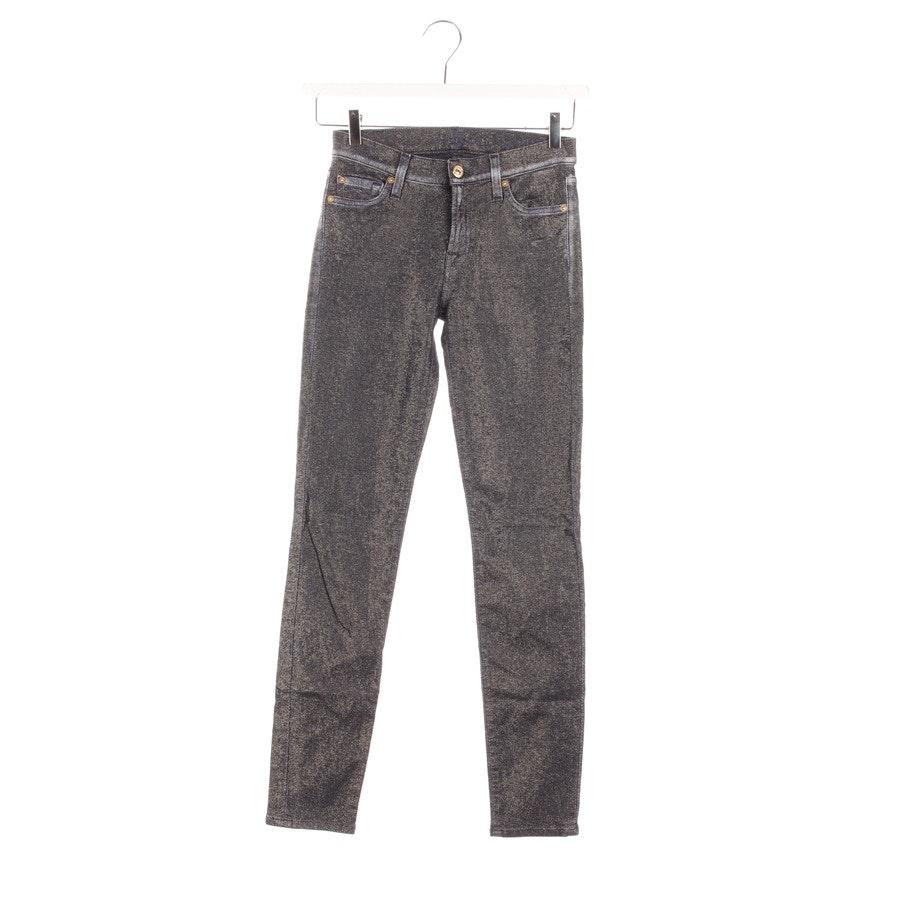Jeans von 7 for all mankind in Gold und Blau Gr. W27