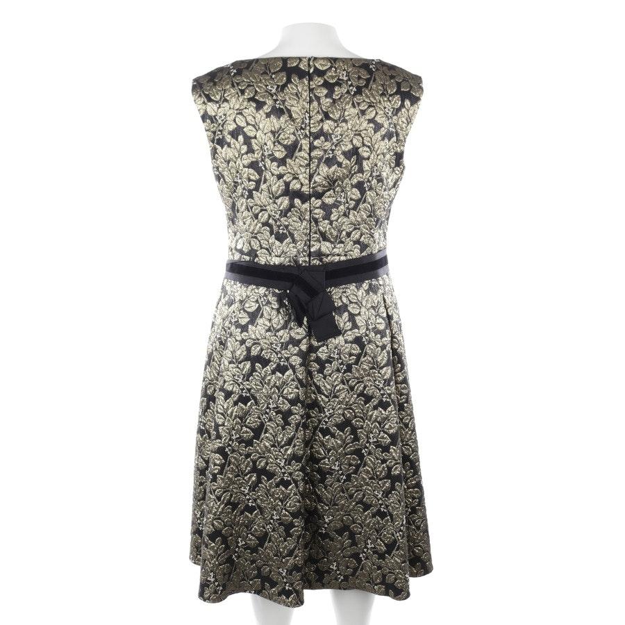 Kleid von Marc Cain in Gold und Schwarz Gr. L