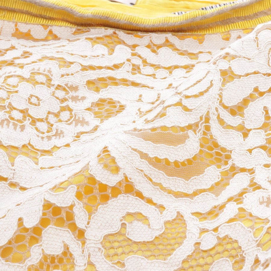 skirt from Dorothee Schumacher in cream and yellow size 42/5