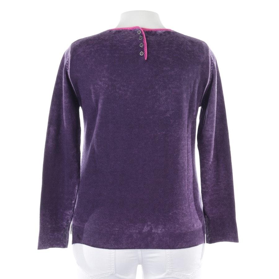 knitwear from GC Fontana in purple mottled size 40