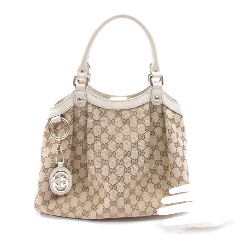 Handtasche von Gucci in Beige - Sukey