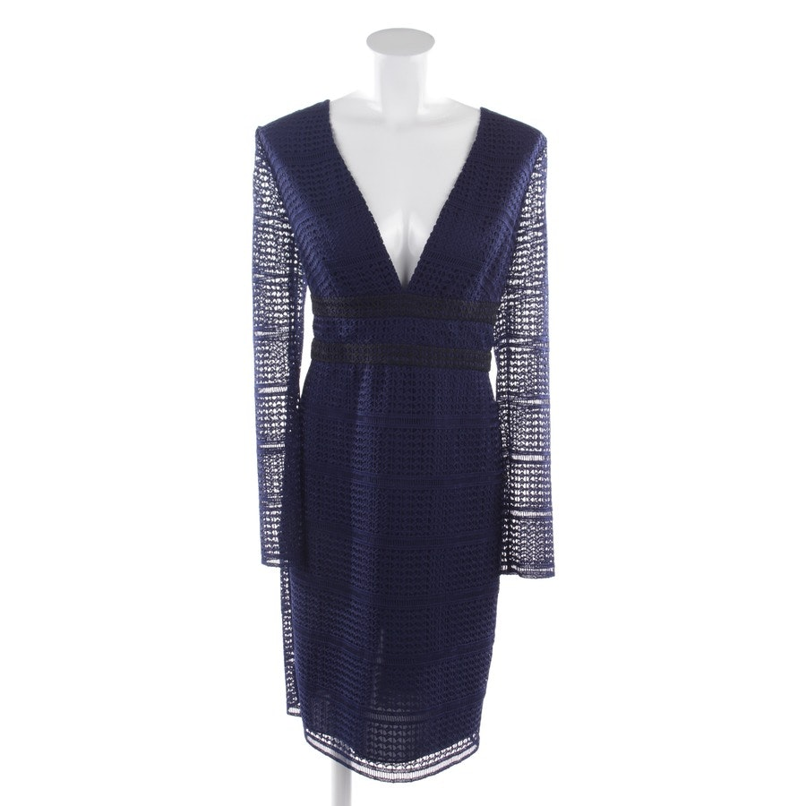 dress from Diane von Furstenberg in midnight blue and black size 40 US 10 - new