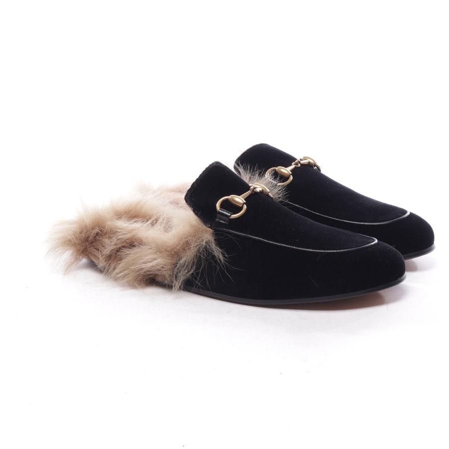 Mules von Gucci in Schwarz Gr. EUR 39 UK 6