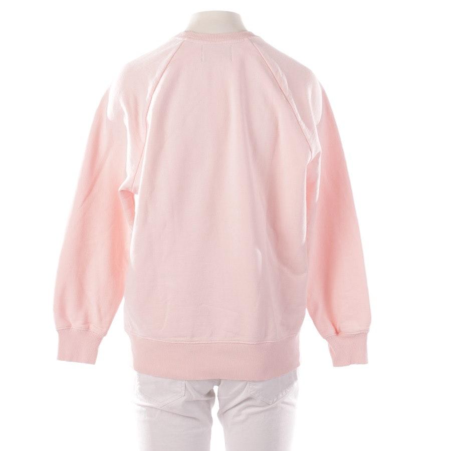 Sweatshirt von Markus Lupfer in Zartrosa und Silber Gr. L