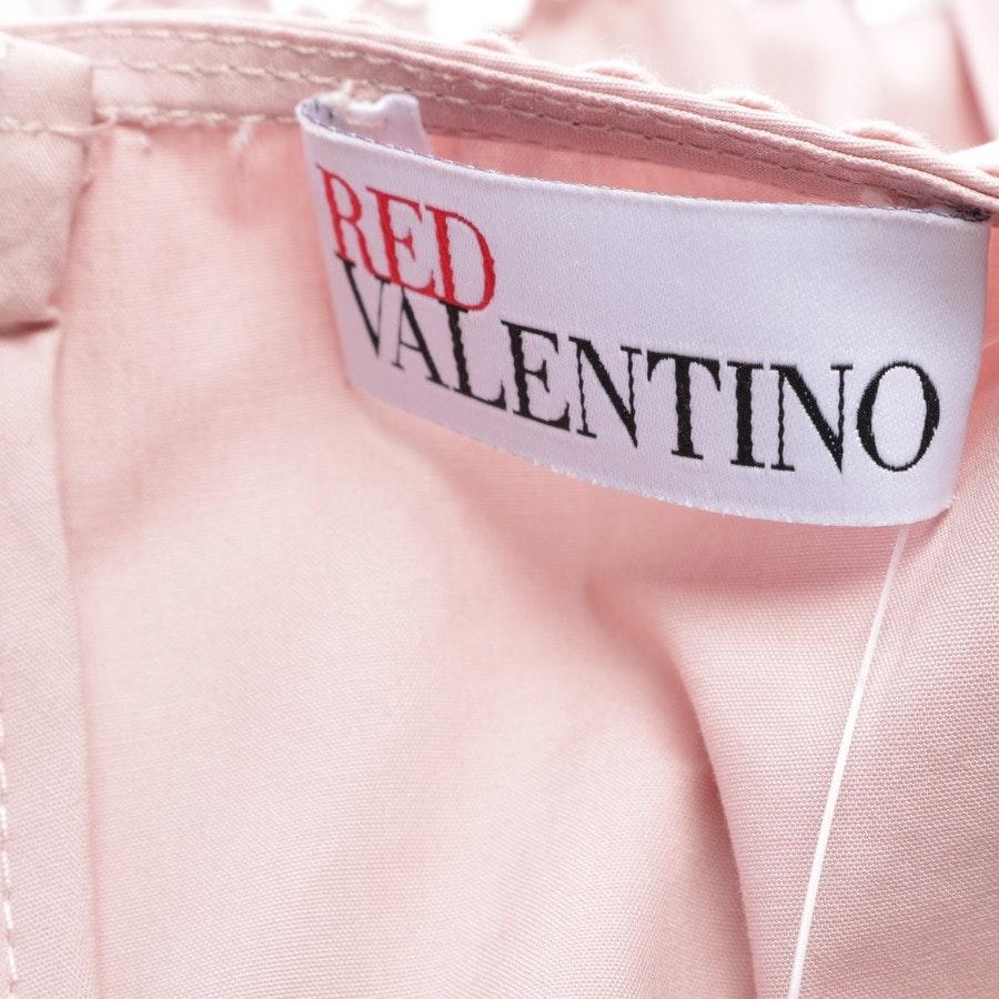 Cocktailkleid von Red Valentino in Rosa und Weiß Gr. 34 IT 40