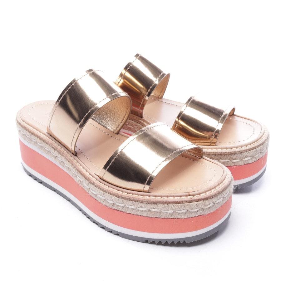 Sandaletten von Prada in Multicolor Gr. D 38 - Neu