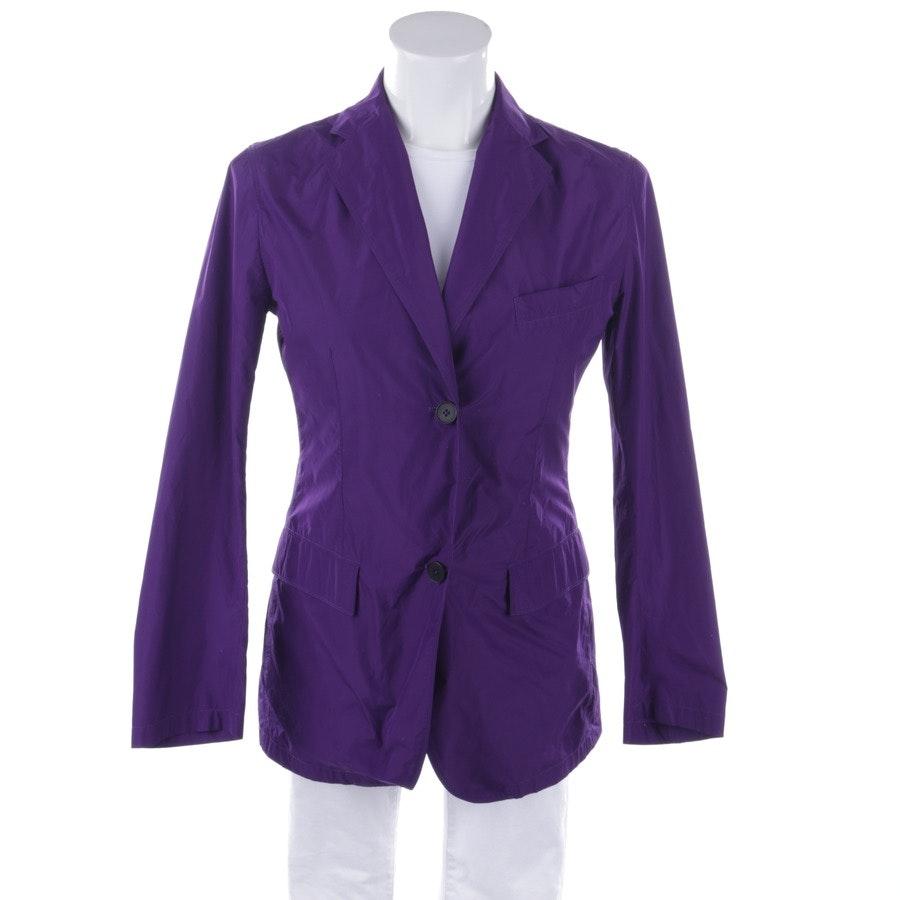 summer jackets from Jil Sander in plum size 34