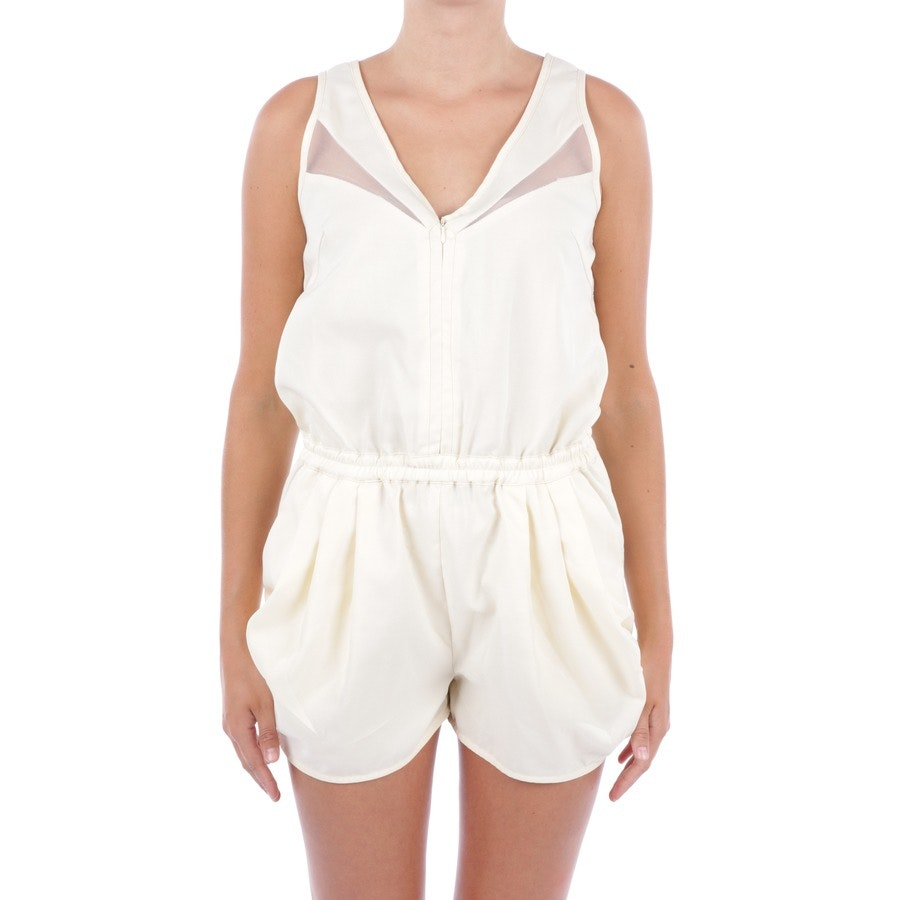 jumpsuit from Miu Miu in pastel yellow size M