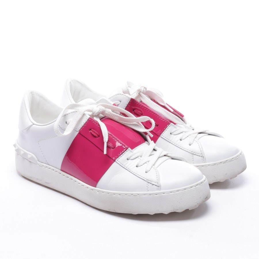 trainers from Valentino in white and pink size D 38,5 - rockstud